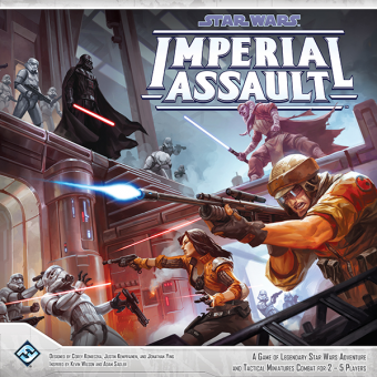Star Wars: Imperial Assault - Angriff des Imperiums Grundspiel
