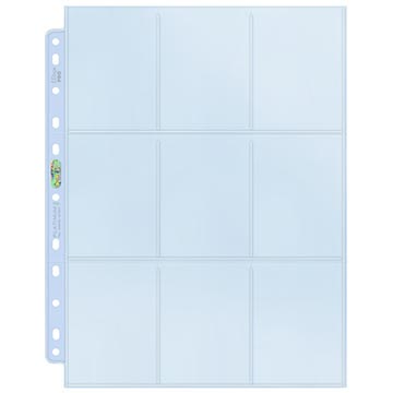 Ultra Pro 9-Pocket Platinum Page for Standard Size Cards