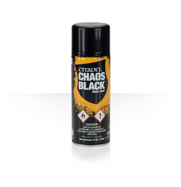 Chaos Black Grundierspray