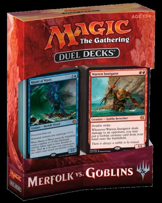 MtG: Goblins vs Merfolk Duell Deck(eng)