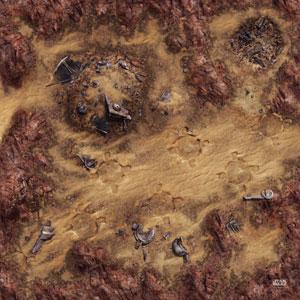 Legion Matte Desert Junkyard