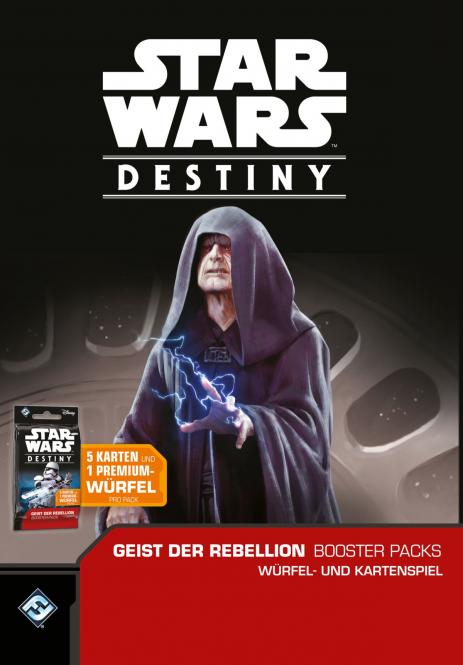 Star Wars: Destiny - Geist der Rebellion Boosterdisplay DEUTSCH