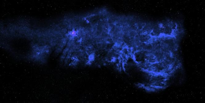 Spacematte Sternennebel groß