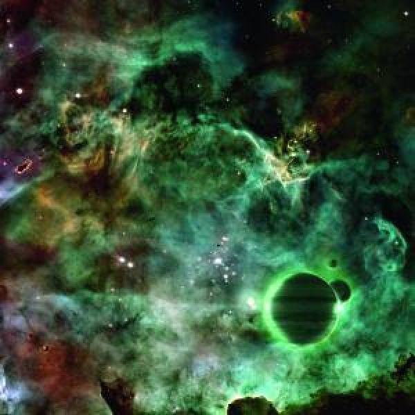 Spacematte Grün