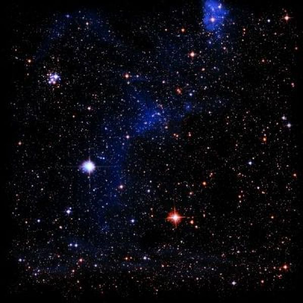Spacematte Sternenfeld
