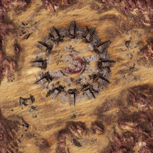 Legion Matte Desert Ruins