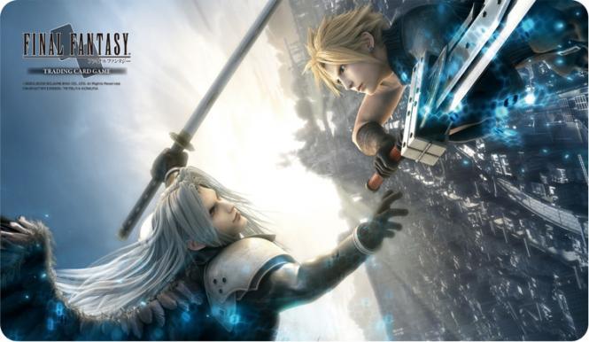 Final Fantasy TCG: Final Fantasy Gamemat • Advent Children – Cloud/Sephiroth