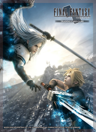 Final Fantasy TCG: FF VII Advent Children – Cloud/Sephiroth Art-Sleeves