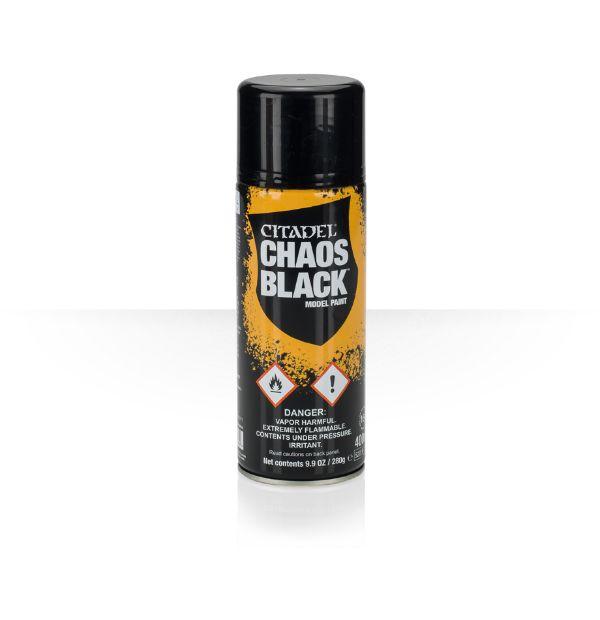 Chaos Black Grundierspray