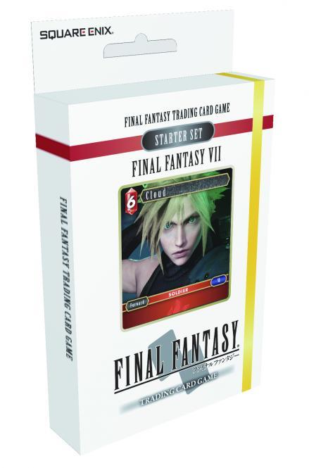 Final Fantasy TCG: Final Fantasy VII Starter: Feuer & Erde  dt.