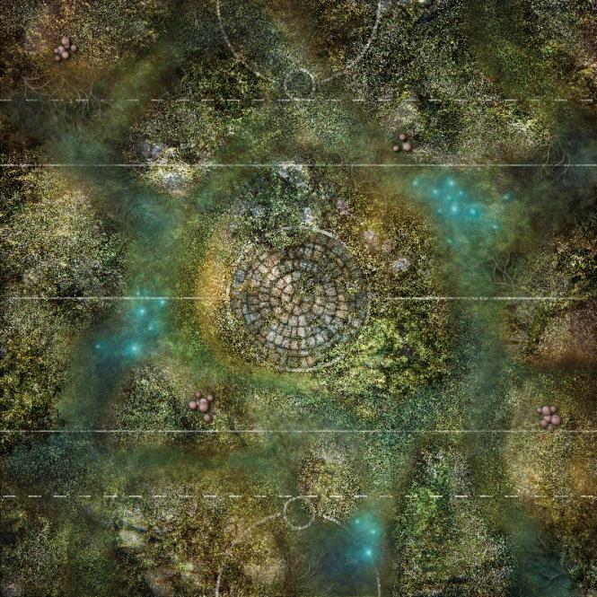 Gamemat Swamp Arena